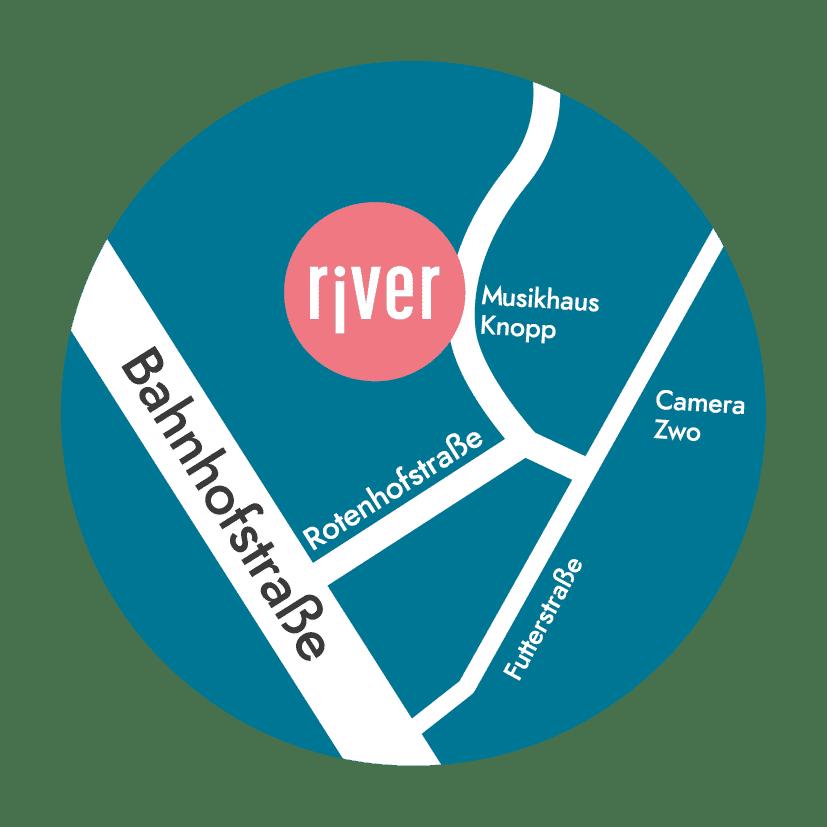 river-Wegweiser-Saarbruecken