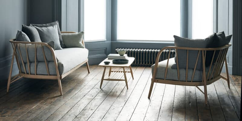 ercol-Large Sofa-and-Small-Sofa