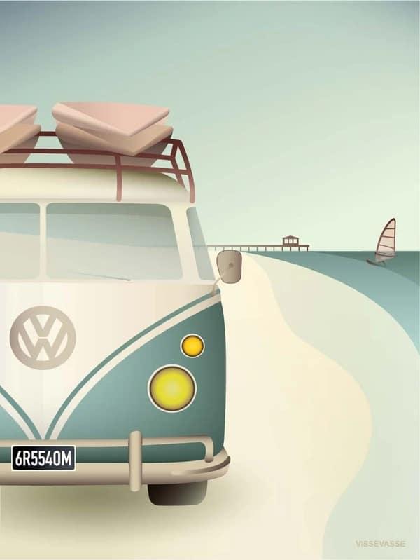 Produktbild Poster von Vissevasse