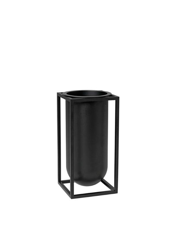 """By Lassen: Kubus-Vase """"Lily"""", schwarz"""