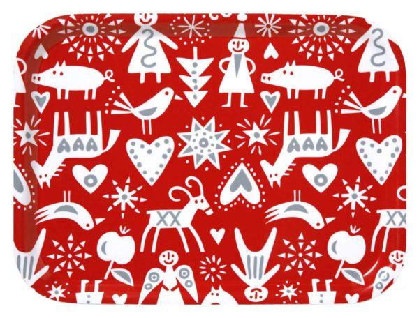 Klippan Bengt & Lotta Merry X-mas Tablett