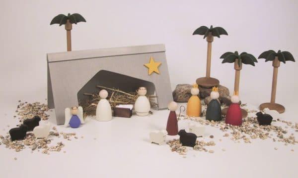 Krippe schwedisch Weihnacht