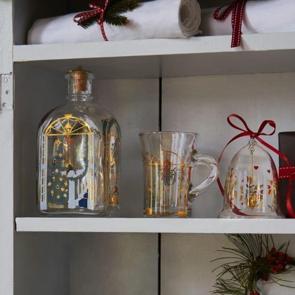 Holmegaard Weihnachtsflasche