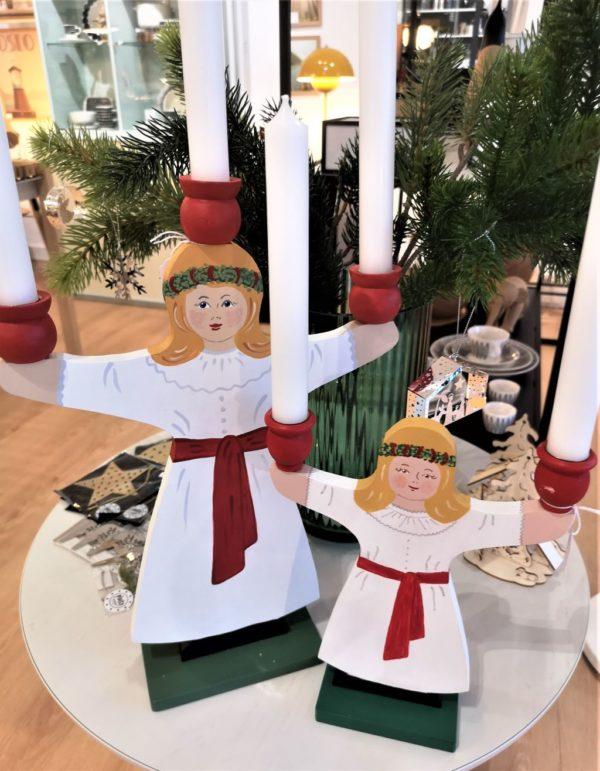Hemslöjd Kerzenhalter Lucia