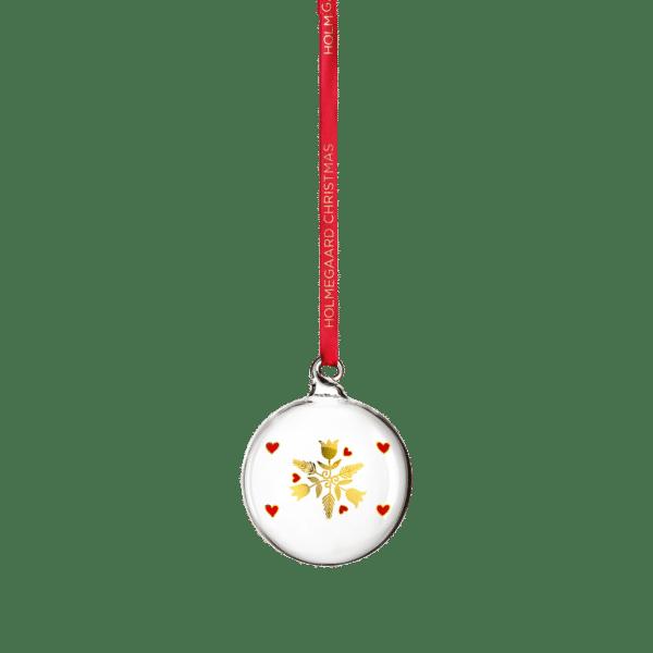 Holmegaard: Anne-Sofi Romme Weihnachtsschmuck skandinavisch dänisch