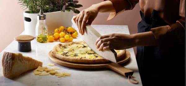 Eva Solo Nordic kitchen Green tool Pizzamesser Kräutermesser Käsemesser nachhaltig