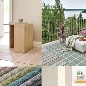 Pappelina Teppich Läufer PVC Kunststoff skandinavisch schwedisch