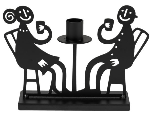 Bengt & Lotta Kerzenhalter Kerzenleuchter Fika Kaffee# Cafe