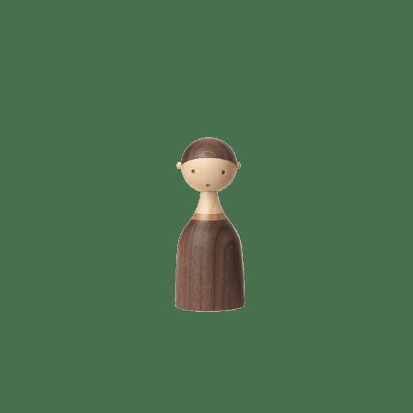 Architectmade Kin Familie Holz Junge Boy Figur