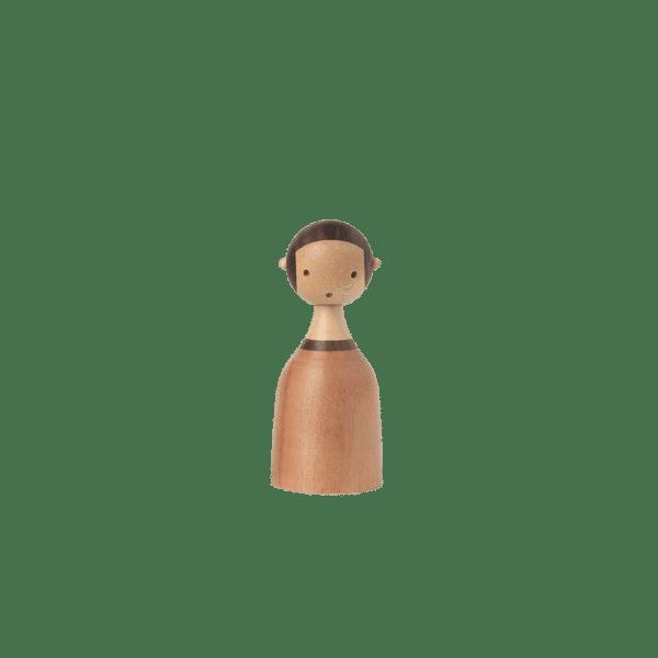 Architectmade Kin Familie Holz Mädchen Girl Figur
