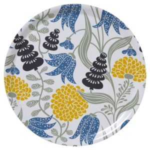 Klippan Yllefabrik Bengt & Lotta Tablett Lily Design schwedisch Servier#