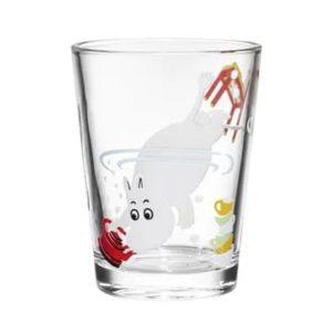 Arabia Mumintroll Glas Moomin