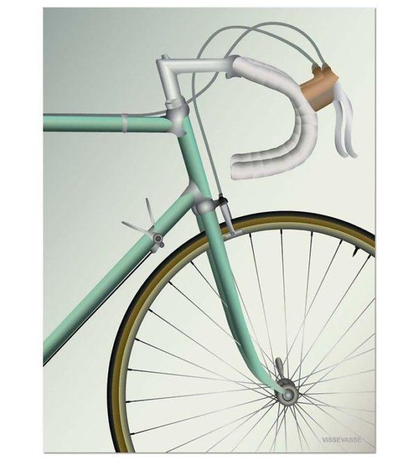 Vissevasse Poster Racing bycicle Rennrad Sport