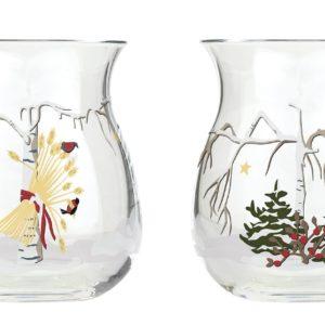 Holmegaard Christmas Teelichthalter 2021 Vogel Baum